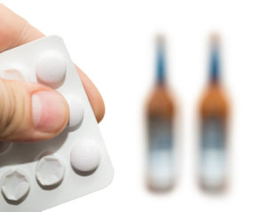 tablets after alcohol beer